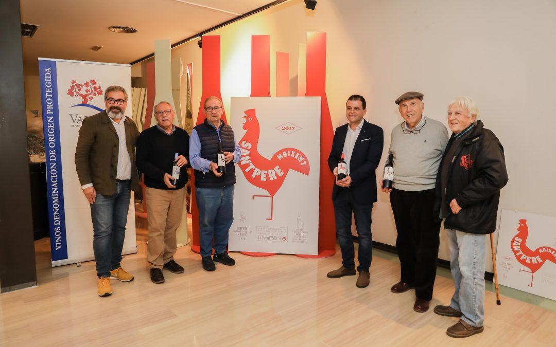 Los Sant Pere se presentan en la sede de la D.O Valencia